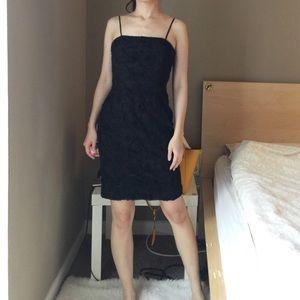 Calvin Klein 3D Roses Dress.-C1.
